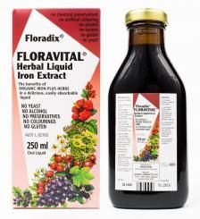 Floravital Herbal Liquid Iron Extract 250ml