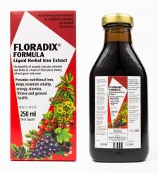 Floradix Formula Liquid Herbal Iron Extract 250ml
