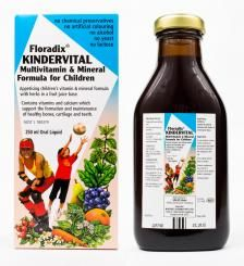 Floradix Kindervital Multivitamin and Mineral Formula For Children 250ml