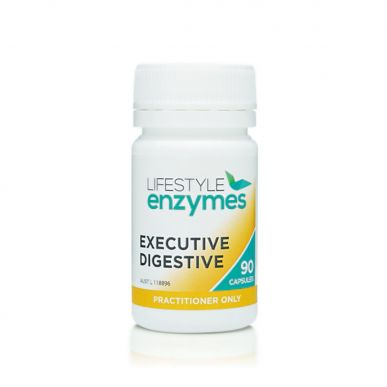 Lifestyle Enzymes Executive Digestive 90c
