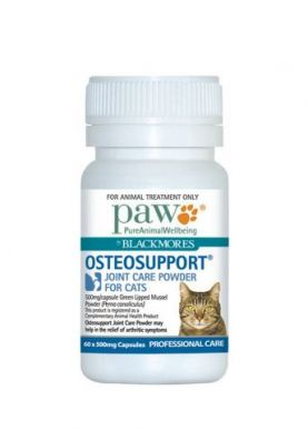 PAW Osteosupport for Cats 60 Tabs