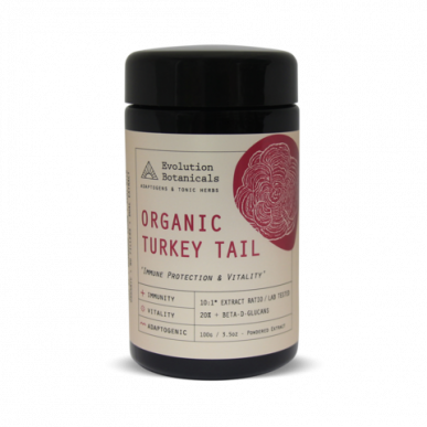 Medicinal Mushroom Turkey Tail